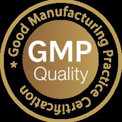 GMP minősítés logó